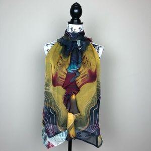 ANTHROPOLOGIE TRACY PORTER Colette Silk Blouse